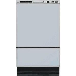 リンナイ ビルトイン食洗機 フロントオープン シルバー RSW-F402C-SV [80-7471]《特定保守製品》