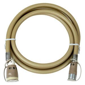 ガスコード2m [タイマー付きガス炊飯器・ガスファンヒーターの接続に]【都市ガス・LPガス兼用】