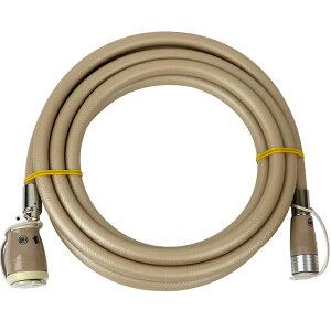 ガスコード3m [タイマー付きガス炊飯器・ガスファンヒーターの接続に]【都市ガス・LPガス兼用】