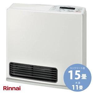 リンナイ ガスファンヒーター RC-Y4002E-W スタンダード 11-15畳用 ホワイト