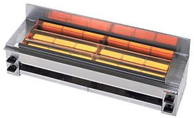 リンナイガス赤外線グリラー(下火式)串焼き64号RGK-64