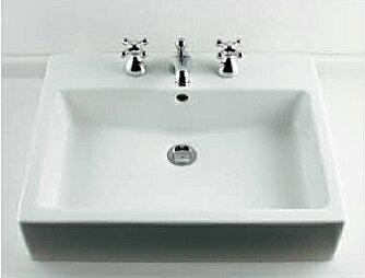 *KAKUDAI*#DU-0452600030 DURAVIT 角型洗面器[3ホール]【送料・代引無料】