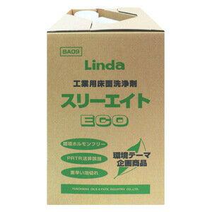 【送料無料】工業用床面洗浄剤 スリーエイト・ECO (18kg) 横浜油脂工業
