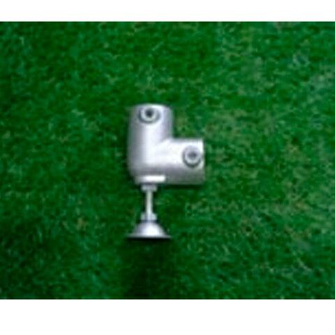 単管接続水平ベース L型 500kgタイプ S-15-2L-500-タテ ジョイント工業締付:ホーローセット(イモネジ)