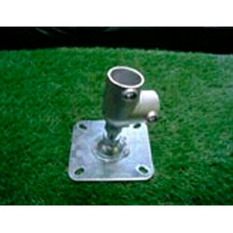 単管接続水平ベース L型 2tタイプ S-15-2L-2000B-タテ ジョイント工業締付:ホーローセット(イモネジ)