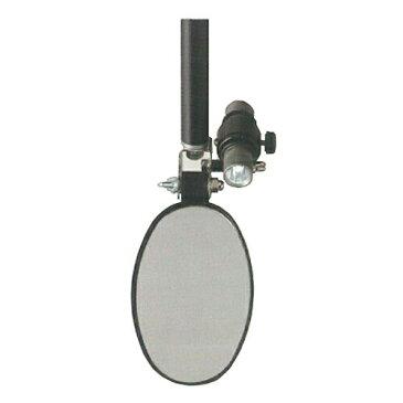 点検ミラーライト 180Lmサイド 1 600mm〜1000mm(ポール長さ) サンキョウ・トレーディング