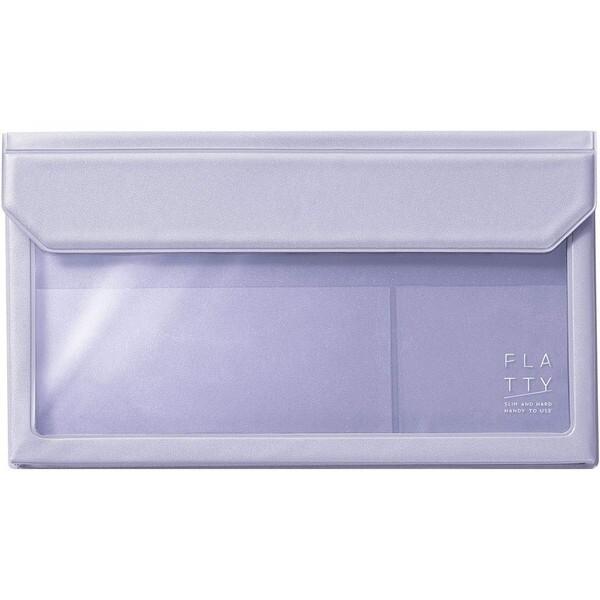 產品詳細資料,日本Yahoo代標 日本代購 日本批發-ibuy99 包包、服飾 包 箱包配件 袋組織者/袋中袋 キングジム FLATTY フラッティ 封筒サイズ ラベンダー かさばらないバッグインバッグ 透明ポ…