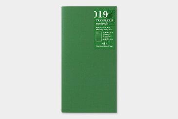 【メール便対象】【TRAVELER'S notebook】トラベラーズノート リフィル レギュラーサイズ 019 週間フリー+メモ