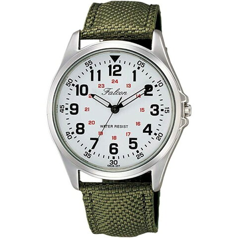 【メール便対象】CITIZEN シチズン Q&Q ファルコン メンズ腕時計 QB38-304