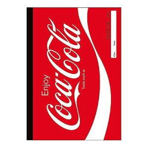 【メール便対象】英語学習帳 B5 15段 コカ・コーラ ノート