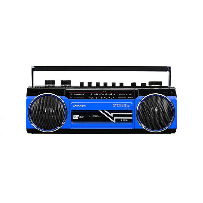 オーディオ, ラジカセ SANSUI Bluetooth SCR-B2BL