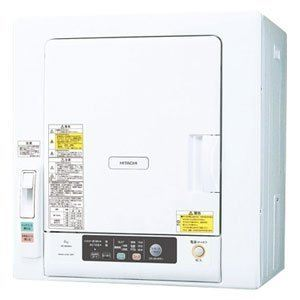 日立 6.0kg 衣類乾燥機 これっきりボタン DE-N60WV-W