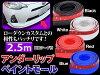 アンダーリップペイントモールカラー2.5mフロントリップサイドステップにウレタンゴム製スポイラーチンスポイラー