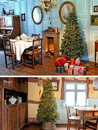 クリスマスツリー150cm9月下旬入荷予約枝が増えた2018ver.樅クラシックタイプ高級ドイツトウヒツリーオーナメントなし【J-150cm】アルザスツリーAlsaceおしゃれヌードツリー北欧