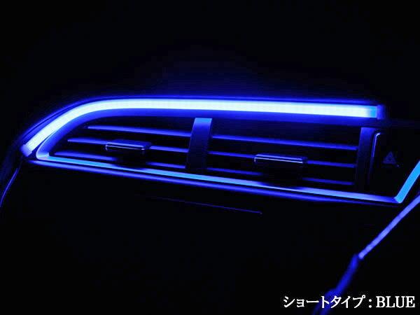 ヘッドライトledアイラインハイパーLEDシリコンチューブショートタイプ1本
