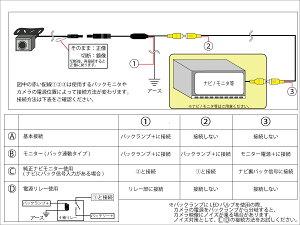 バックカメラ【スーパーセール限定超特価】【レビュー記入で送料無料】高性能マイクロバックカメラOV7960センサー搭載カーナビ取り付け角度調整可能CJ-660ガイドライン無し