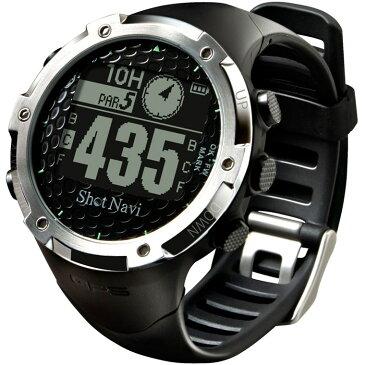 ショットナビ Shot Navi ショットナビW1-FWGPS 腕時計[GSP ナビ 距離測定器 腕時計 キャディ 計測器 ウォッチ ]