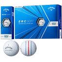 キャロウェイゴルフ callaway golf ゴルフボール 1ダース E・R・C ERC SOFT 21 TRIPLE TRACK ソフト21 トリプルトラック・・・