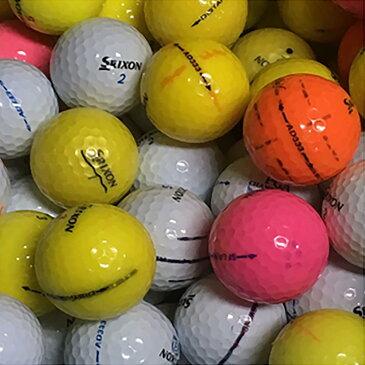 ロストボール Lost Ball スリクソン混合 マーキング入りロストボール 30個セット[ロストボール lost ball中古 ゴルフボール まとめ買い ついで買い 即納 あす楽]
