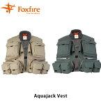 送料無料 フォックスファイヤー Foxfire メンズ アクアジャックベスト 釣り フィッシングギア フィッシング 釣り具 男性用 Aquajack Vest FOX5010850