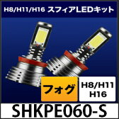 SHKPE060-SスフィアLED H8 / H11 / H16 6000K フォグライト【ヤマト運輸の安心配送】 LED コンバージョンキットSPHERE LIGHT スフィアライト