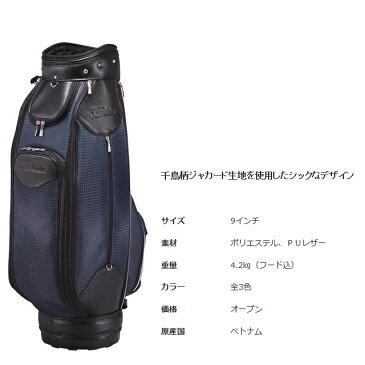 【送料無料】【日本正規品】 Titleist タイトリスト 千鳥柄ジャカード キャディバッグ CB652