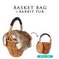 秋も使えるファーつきカゴバッグ、使い勝手の良いものはありますか?