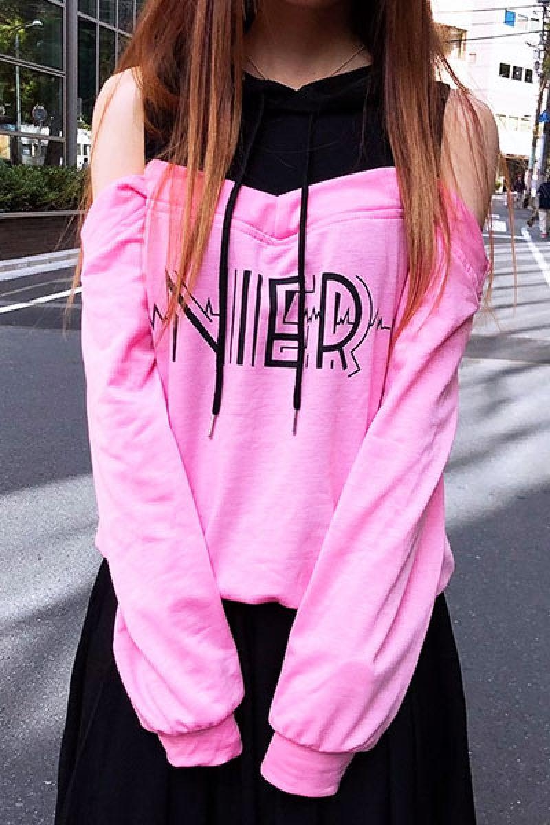 メンズファッション, その他 NieR PINK??BLACK