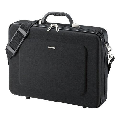 【アウトレット】 【サンワサプライ】セミハードPCケース(15.6型ワイドまで対応・ブラック・ビジネス・通勤・バッグ・保護) BAG-EVA6BKN