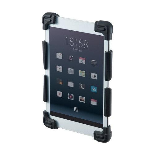 【アウトレット】耐衝撃シリコンケース(タブレット・7〜8インチ・ブラック) サンワサプライ PDA-TABH5BK【ネコポス対応】