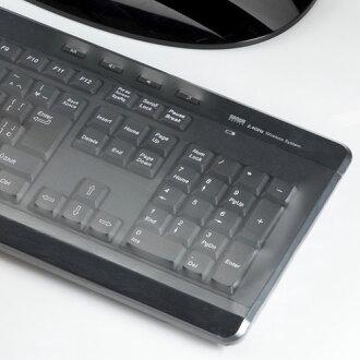 薄くて高透明なキーボードマルチカバーで付属のアタッチメントであらゆる機種に簡単装着_FA-MULTI3