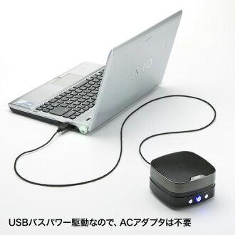 WEB会議小型スピーカーフォン(USB接続)_サンワサプライ_MM-MC28