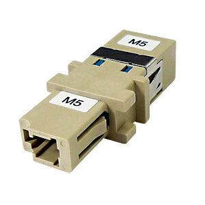 光ファイバケーブルを簡単に延長できる中継アダプタ(LCコネクタ-SCコネクタ・50ミクロン)_HAD-LCSC-50