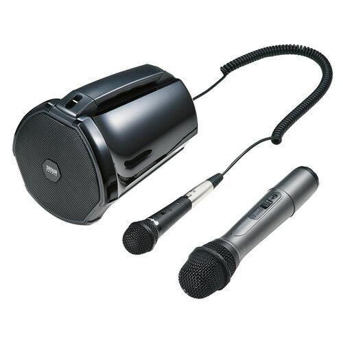 【訳あり 新品】ワイヤレスマイク付き拡声器スピーカー ※箱にキズ、汚れあり:イーサプライ 激安アウトレット