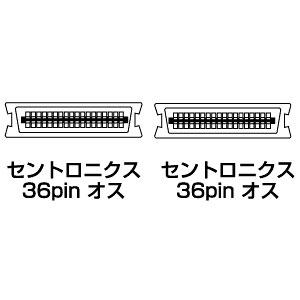 プリンタケーブル(切替器・バッファ用・2m)_KP-362K_サンワサプライ
