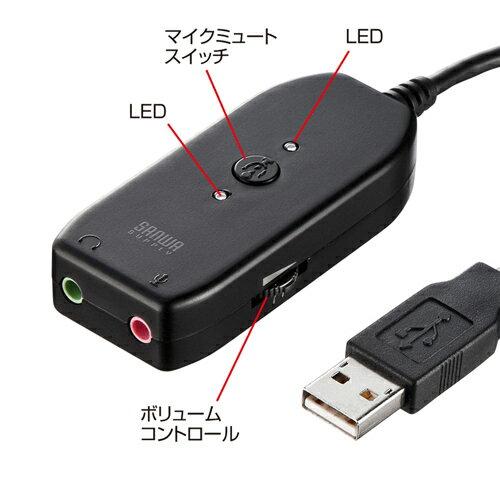 USBオーディオ変換アダプタ ※箱にキズ、汚れあり