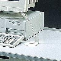 PC電話やネットミーティングに最適、付属品でディスプレイなどにも取付け可能なマルチメディアマイクロホン MM-MC1 ※箱にキズ、汚れあり