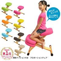 【送料無料】プロポーションチェアキッズCH-889CK【補助クッション付きプロポーションチェア】【キッズチェア】【子供用椅子】【学習椅子】【勉強用チェア】【座面高さ調節可能】【自発心を促す】