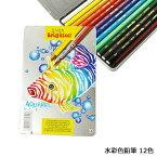 水彩色鉛筆 12色 【知育玩具】【色鉛筆】【お絵かき】【ブリンツィール】
