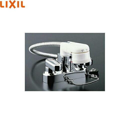 リクシル[LIXIL/INAX]2ハンドル混合水栓[簡易洗髪シャワー混合栓]SF-25D