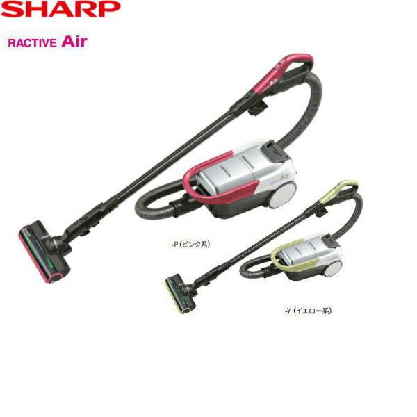 [EC-AP500-P/Y]シャープ[SHARP]コードレスキャニスター紙パック式掃除機[ピンク系/イエロー系][RACTIVEAir][送料無料]