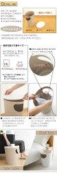 サイドテーブル・ゴミ箱・送料無料・日本製・ソファーサイドテーブル・ベッドサイドテーブル・ローテーブル・テーブル・机・ダストボックス・ごみ・袋・見えない・ふた付き・収納・ホワイト・ベージュ・おしゃれ・シンプル
