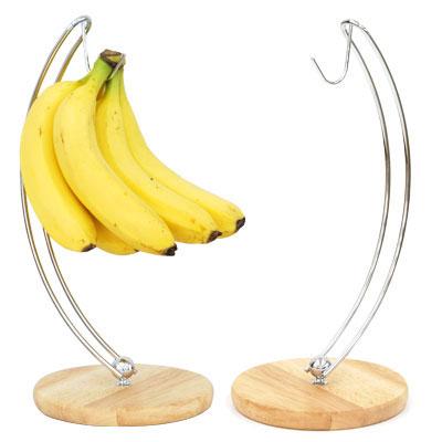 【 クーポン配布中 】 バナナスタンド 果物 天然木 ウッドスチール バナナフック バナナ掛け バナナダイエット バナナツリー キッチン雑貨 便利グッズ 台所 食卓 ダイニングテーブル 木製 スタンド 掛ける 吊るす 送料無料 おしゃれ