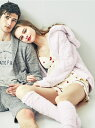 gelato pique バレンタインスフレハートポンポンパーカー/ルームウエア ジェラートピケ【送料無料】