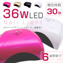 ネイルライトLED-UV 36W 4色から選べる 高速硬化の最新ライト