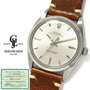【中古】ブッフェラーギャラ付アンティークロレックスオイスターパーペチュアル1018メンズ自動巻腕時計