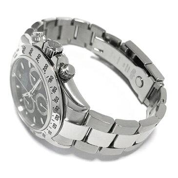 【中古】ギャラ付 ロレックス デイトナ 116520 F番 黒文字盤 メンズ 自動巻 腕時計