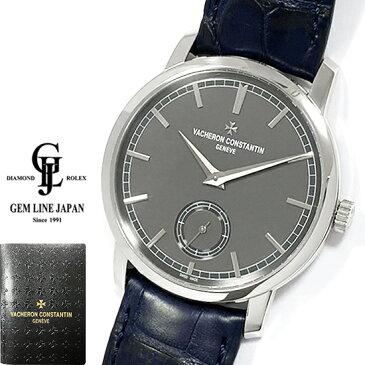 【中古】ギャラ付 ヴァシュロン コンスタンタン パトリモニー トラディショナル 82172 000P-9811 プラチナ メンズ 手巻 腕時計