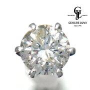 【中古】ダイヤモンド0.76ctPt900シングルピアス