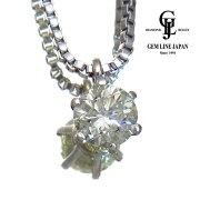 【中古】【美品】ダイヤモンドM-SI1-FAIR1.012ctPt850ロングネックレス